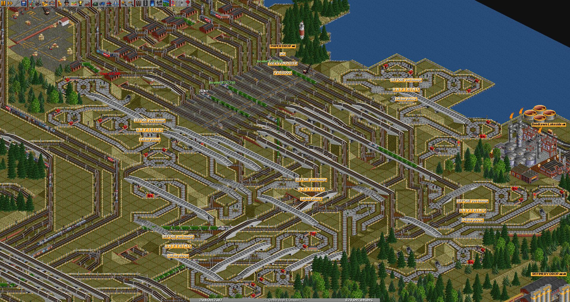 Refit Stations