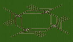 compact 4-way hub