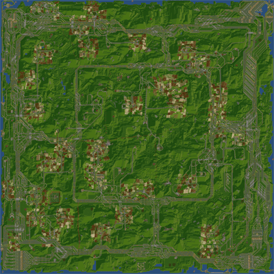 Map Overview of ProZone Game 05
